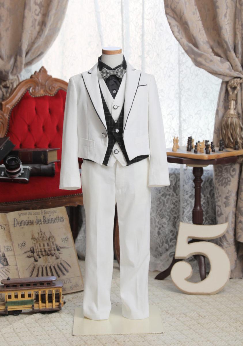 5-185yWH-O 白ショートスーツ