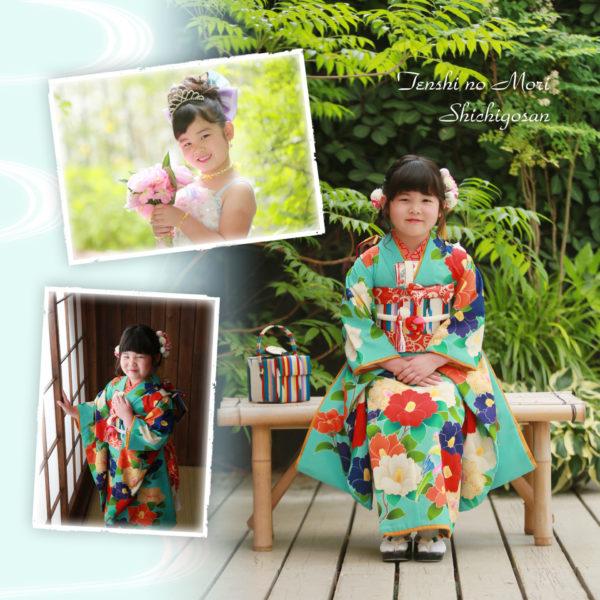 関東 栃木県 写真館 七五三 天使の森