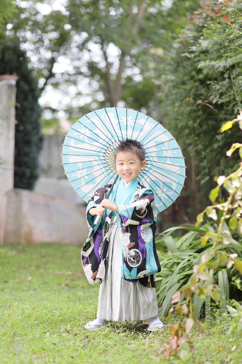 3歳男の子羽織袴