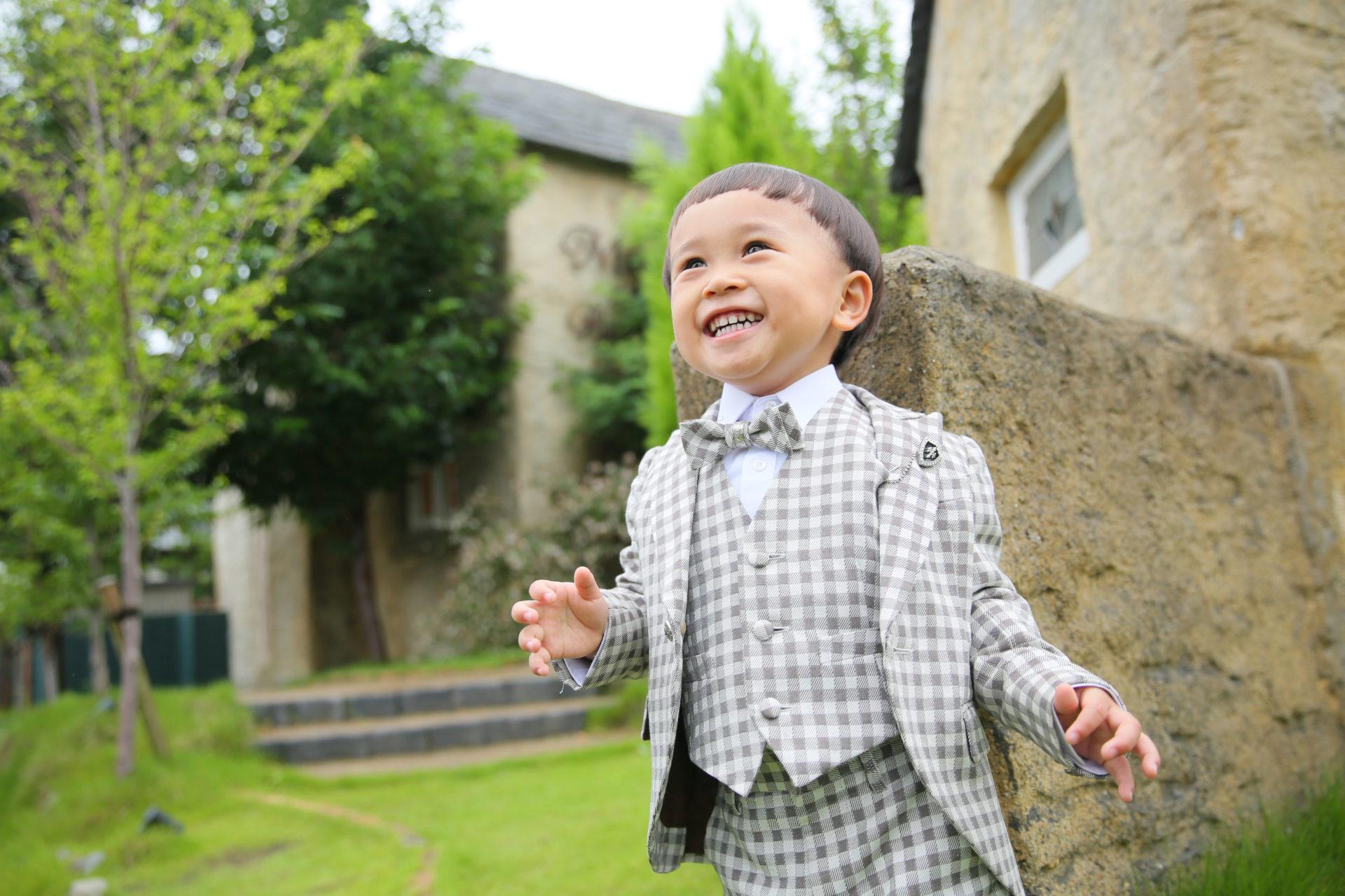 3歳男児七五三タキシード