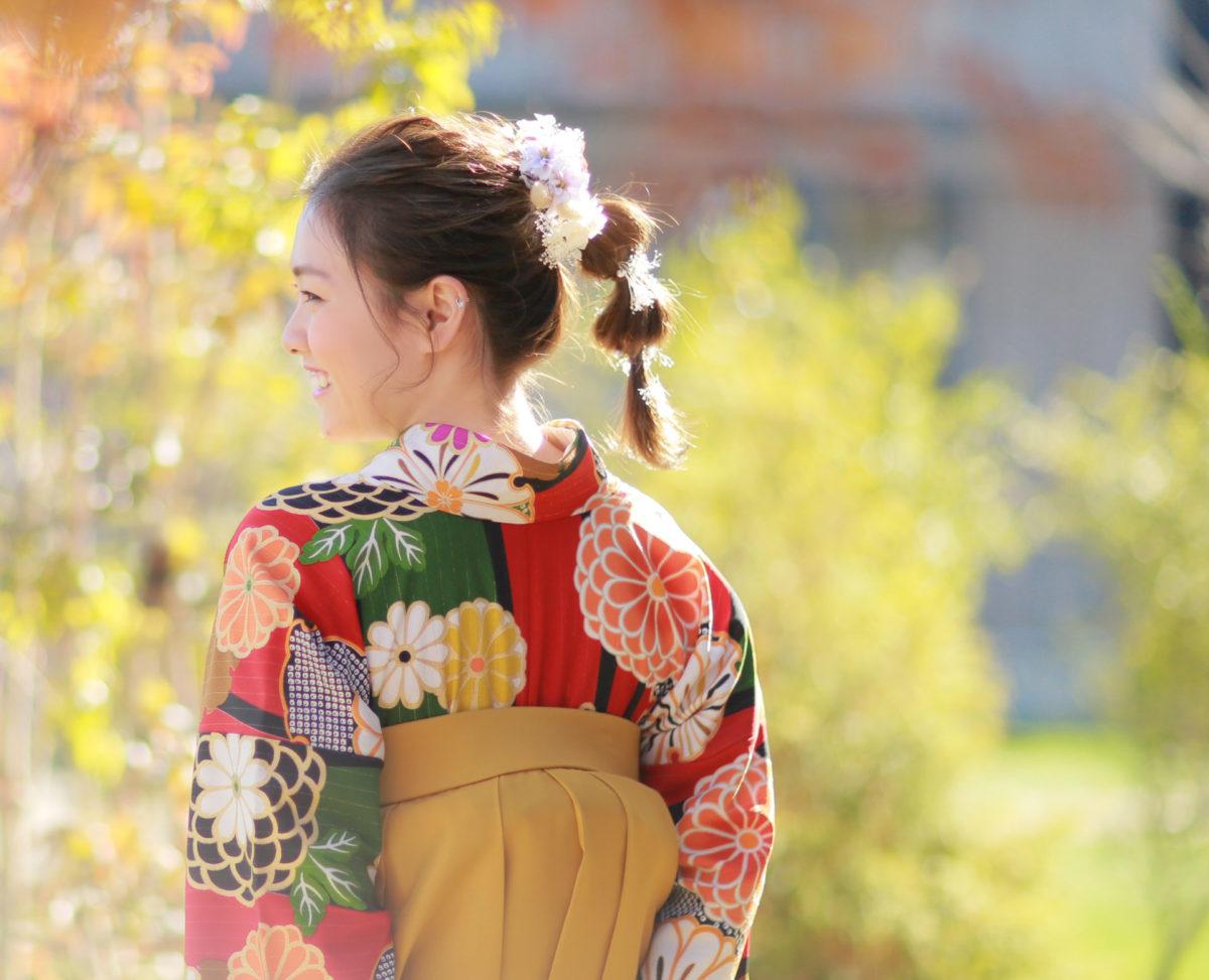 卒業袴 撮影
