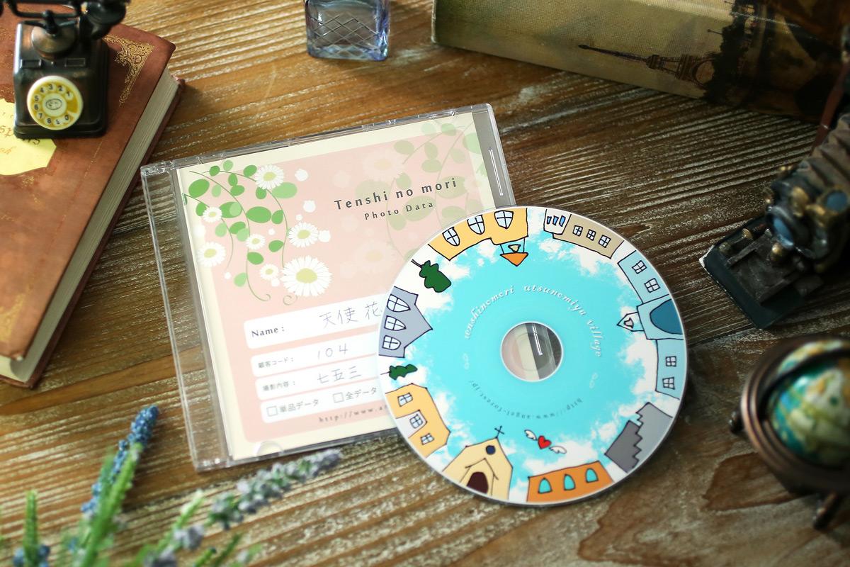 CD 写真館のデータ